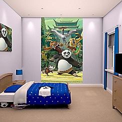 Walltastic - 'Kung Fu Panda' poster mural
