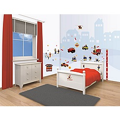 Walltastic - 'Fireman Sam' room decor kit