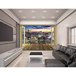 Walltastic - 'New York City Skyline' wallpaper mural