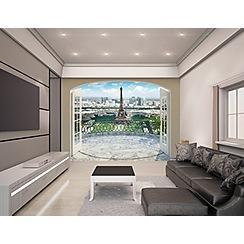 Walltastic - 'Eiffel Tower in Paris' wallpaper mural