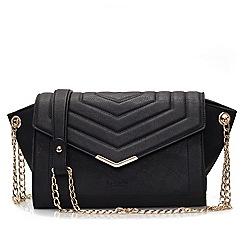 LaBante London - Black 'Kensington' quilted bag