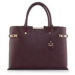 LaBante London - Bordeaux 'Windsor' shoulder bag