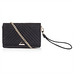 LaBante London - Black 'Serin' quilted across body bag
