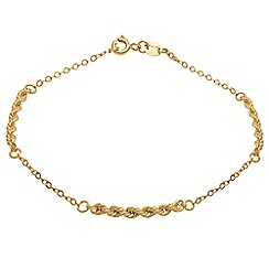 Aurium - 9 carat yellow gold  bracelet