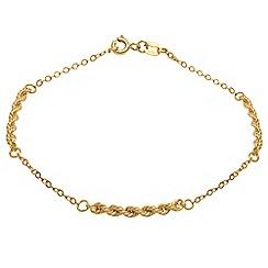 Aurium - 9 carat yellow gold  bracelet