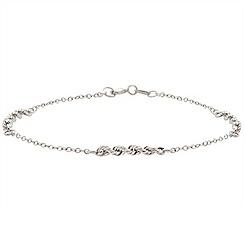 Aurium - 9 carat white gold bracelet