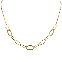 Aurium - 9 carat yellow gold necklet