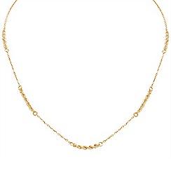 Aurium - 9 carat yellow gold necklet