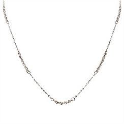 Aurium - 9 carat white necklet