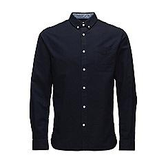 Jack & Jones - Navy 'David'Oxford shirt