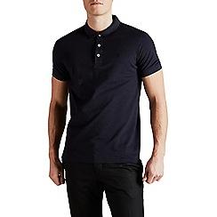 Jack & Jones - Navy 'Paulos' polo shirt