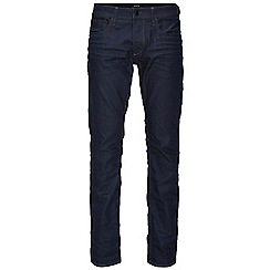 Jack & Jones - Dark coated straight fit denim jean