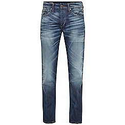 Jack & Jones - Mid wash relaxed fit denim jean