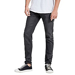 Jack & Jones - Coated grey slim fit denim jean