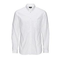 Jack & Jones - White 'Gavin' long sleeve shirt