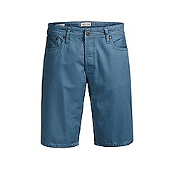 Jack & Jones - Blue 'Rick' chino shorts