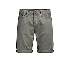 Jack & Jones - Grey 'Rick' chino shorts