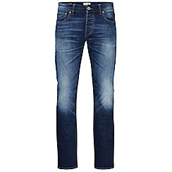 Jack & Jones - Mid wash slim fit denim jean