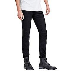 Jack & Jones - Black regular fit 'Clark' denim jeans