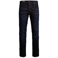 Jack & Jones - Dark coated relaxed fit denim jean