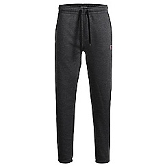 Jack & Jones - Black slim fit 'Chris' sweat pant