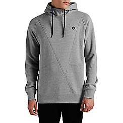 Jack & Jones - Light grey 'Pinn' sweat hood top