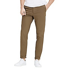Jack & Jones - Tan 'Marco Enzo' slim fit chino pants