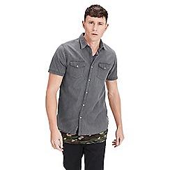 Jack & Jones - Black 'One' short sleeve shirt