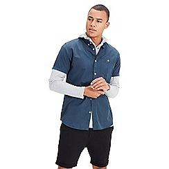Jack & Jones - Navy 'New Gavin' short sleeve shirt