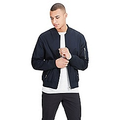 Jack & Jones - Navy 'Theis' bomber jacket