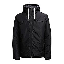 Jack & Jones - Black 'Calm canyon' puffer jacket