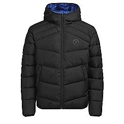 Jack & Jones - Black 'Landing' puffer jacket