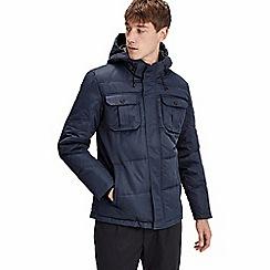 Jack & Jones - Navy 'Will' puffer jacket