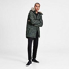 Jack & Jones - Olive green 'Land' parka jacket