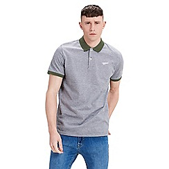 Jack & Jones - Green short sleeve 'Mills' polo shirt