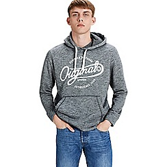 Jack & Jones - Grey 'Panther' hoodie