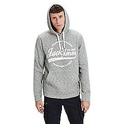 Jack & Jones - Dark grey 'Panther' hoodie