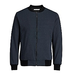 Jack & Jones - Navy 'Robin' bomber jacket