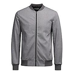 Jack & Jones - Dark grey 'Robin' bomber jacket