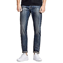 Jack & Jones - Blue comfort fit 'Mike' jeans