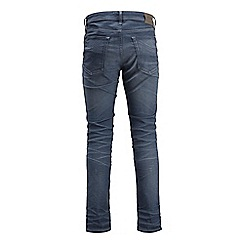 Jack & Jones - Blue slim fit 'Tim' jeans