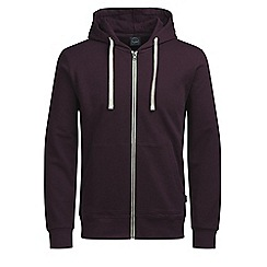 Jack & Jones - Wine 'Holmen' sweat hoodie