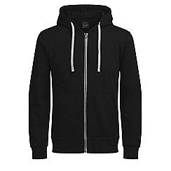Jack & Jones - Black 'Holmen' sweat hoodie