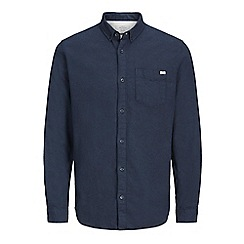 Jack & Jones - Navy casual 'Skild' long sleeve shirt