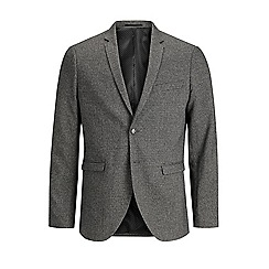 Jack & Jones - Grey 'Sebastian' slim fit blazer