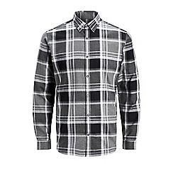 Jack & Jones - Grey 'Xmas' check shirt