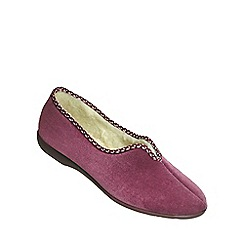 Great British Slippers - Heather 'Helsinki' womens slipper