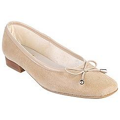 Riva - Cappuccino 'Provence' fish ballerina shoes