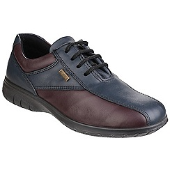 Cotswold - Navy 'Salford' waterproof shoes