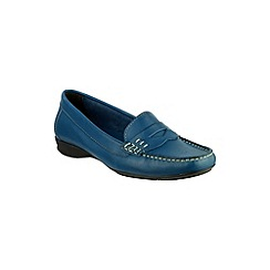Cotswold - Navy 'Cotes' moccasins